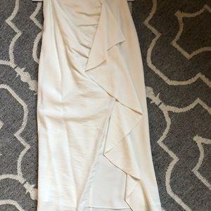 KEEPSAKE the Label White Tiered Midi Skirt